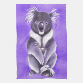 Buddha koala kitchen towel