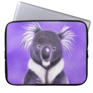 Buddha koala laptop sleeve