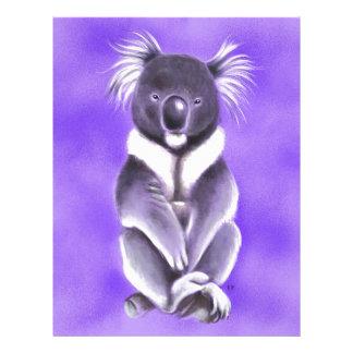 Buddha koala letterhead