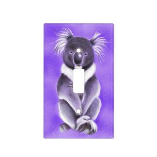 Buddha koala light switch cover