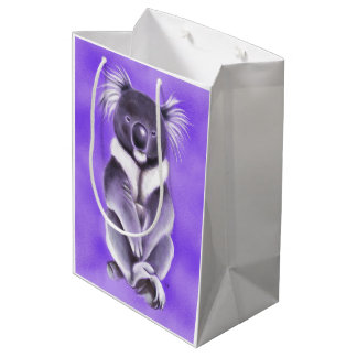 Buddha koala medium gift bag