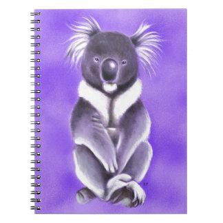 Buddha koala notebook