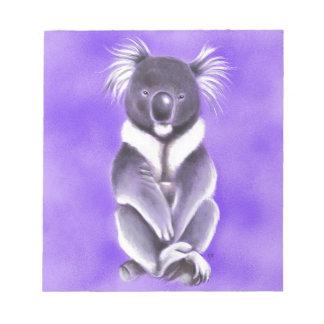 Buddha koala notepad
