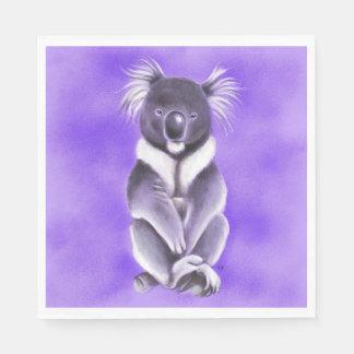 Buddha koala paper napkin