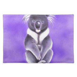 Buddha koala placemat