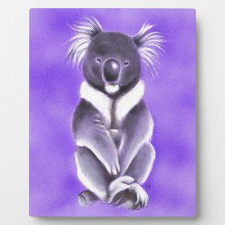 Buddha koala plaque