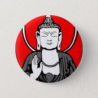 Buddha Logo 2 Inch Round Button