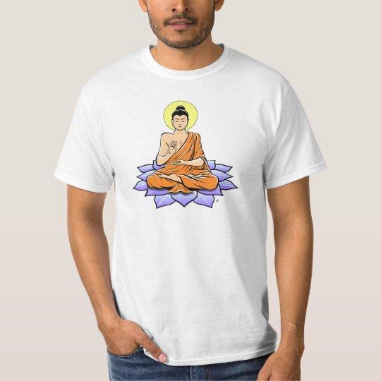 Buddha Lotus Flower T-Shirt