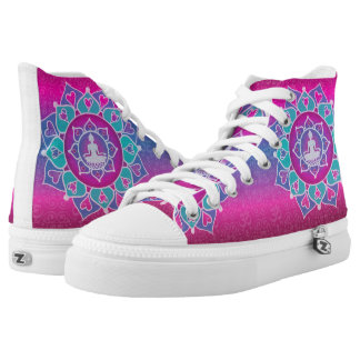 Buddha Lotus High Tops