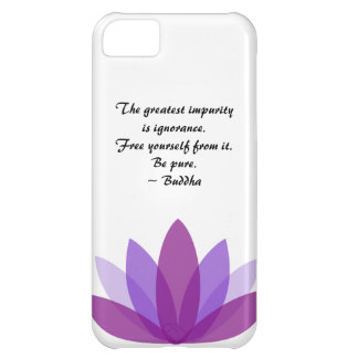 Buddha Lotus Inspiration Cover For iPhone 5C