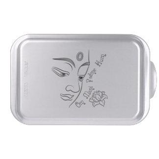 Buddha Lotus Om Mani Padme Hum Cake Pan