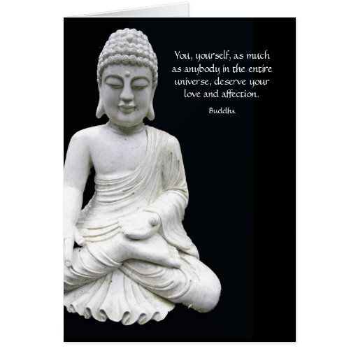 Buddha Love & Affection Greeting Card