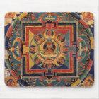 Buddha Mandala Antique Tibetan Thanka Mouse Pad