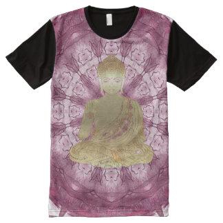 Buddha Mandala applied (rose) All-Over-Print T-Shirt