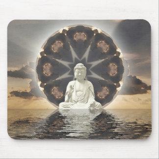 Buddha Mandala Mouse Pad