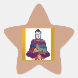BUDDHA Master Yoga Spirit Lord Teacher Meditation Sticker