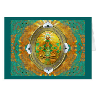 Buddha Medallion Card
