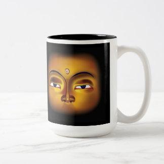 Buddha Meditates Mug