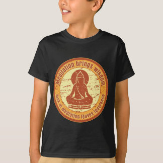 Buddha Meditation Quote T-Shirt