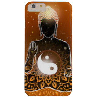 Buddha Meditation Ying Yang Design Barely There iPhone 6 Plus Case