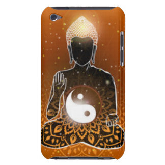 Buddha Meditation Ying Yang Design iPod Touch Case-Mate Case