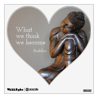Buddha Mindfulness Quote Wall Sticker