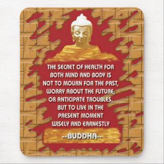 Buddha Motivating messages mousepad