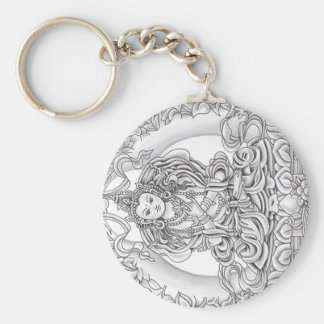 buddha of compassion keychain