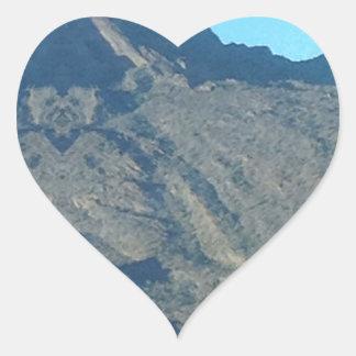 Buddha of the mountain heart sticker