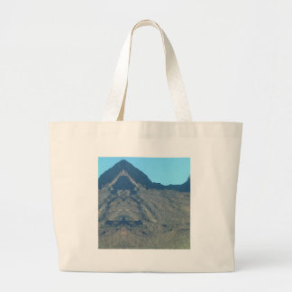 Buddha of the mountain large tote bag