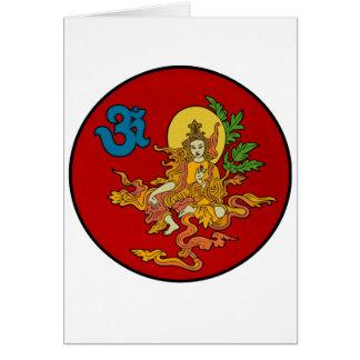 Buddha & OM Card