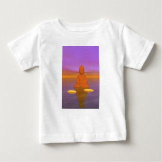 buddha orange and steps yellow baby T-Shirt