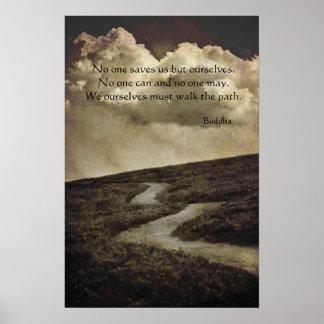 Buddha Path Poster