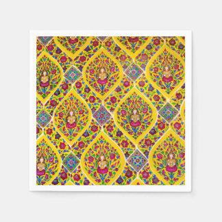 Buddha pattern disposable napkins