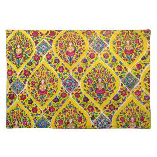 Buddha pattern placemat