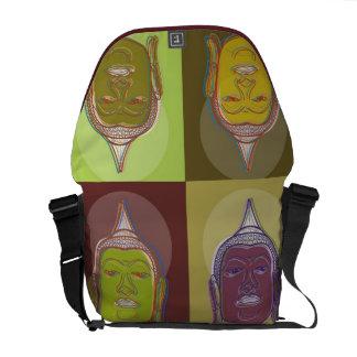 Buddha Pop Art Retro Modern Graphic Vector Bag Courier Bag