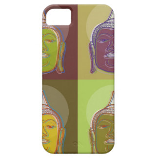 Buddha Pop Art Retro Modern iPhone 5 CaseMate iPhone 5 Cases