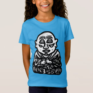 """Buddha Pray"" Girls' T-Shirt"