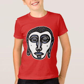 """Buddha Pray"" Kids' American Apparel T-Shirt"