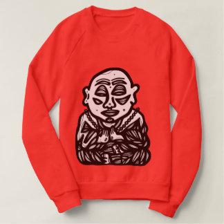 """""""Buddha Pray"""" Women's Sweatshirt"""