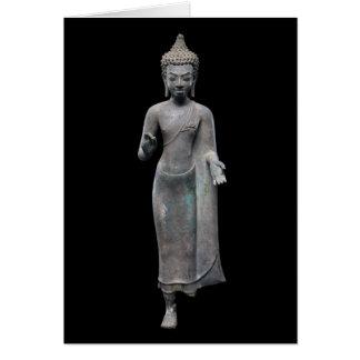 Buddha Preaching Card