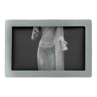 Buddha Preaching Rectangular Belt Buckles