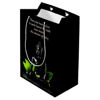 Buddha Quote 1 gift bag