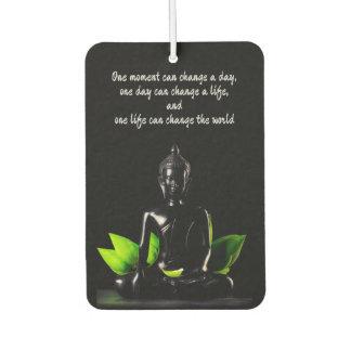 Buddha Quote 2 air freshner Air Freshener