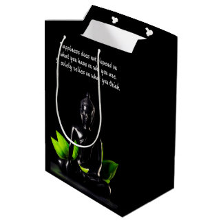 Buddha Quote 4e gift bag