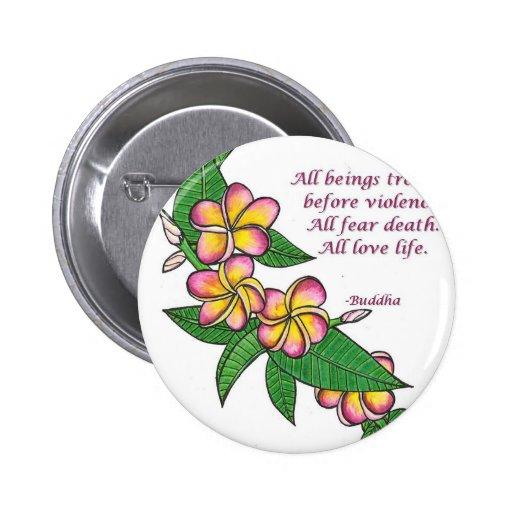 Buddha Quote Button