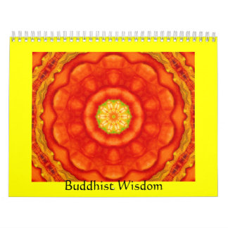 Buddha quote inspirational yoga meditation art wall calendars