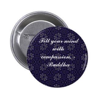 Buddha quote inspire motivational 2 inch round button