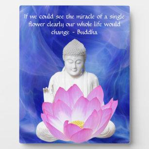 Lotus Flower Quote Home Décor Zazzleca