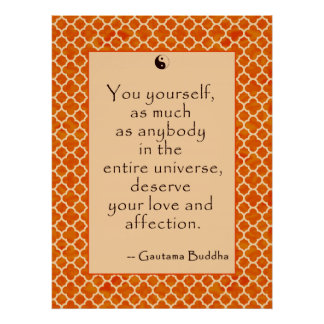 Buddha Quote Love Yourself.... on Posters